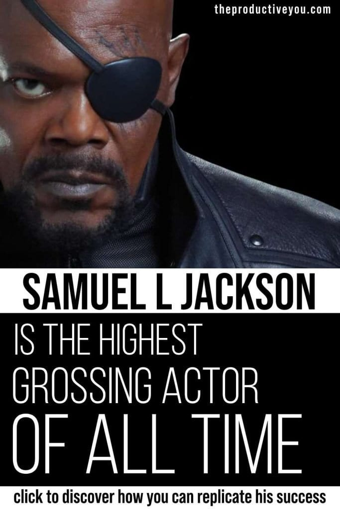 samuel l jackson is the highest grossing actor of all time
